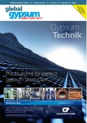Global Gypsum Directory 2017 - CD/PDF